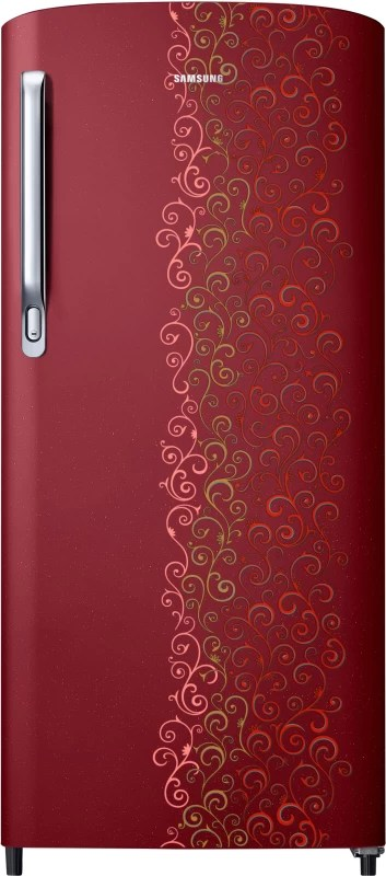 Samsung 192 L Direct Cool Single Door Refrigerator(Royal Tendril Red, RR19M1712RJ-HL/RR19M2712RJ-NL)