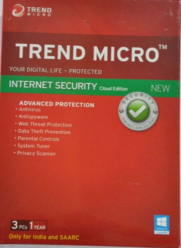 Trend Micro Trend Micro™ Internet Security 2015 3 PC 1 YEAR