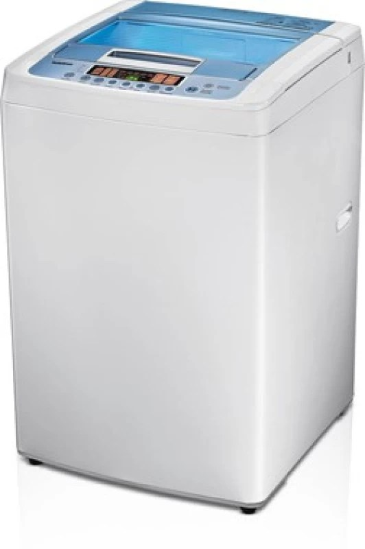 LG 6.5 kg Fully Automatic Top Load Washing Machine White(T7508TEDLL)