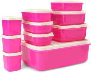 MasterCook COMBO-X-3-PINK Plastic Multi-purpose Storage Container