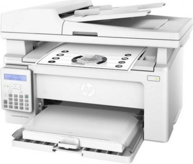 Buy HP LaserJet Pro MFP M132fn Multi-function Printer (White) at Rs.17399