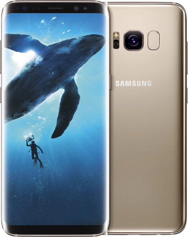 SAMSUNG Galaxy S8 (Maple Gold, 64 GB) (4 GB RAM)