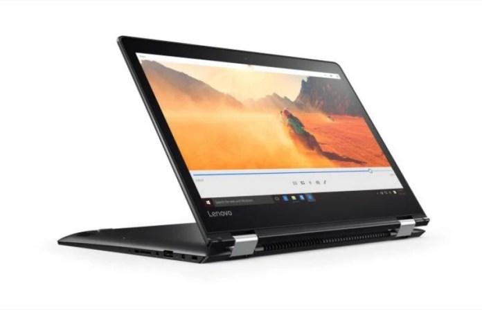 Lenovo APU Dual Core A9 6th Gen - (4 GB/1 TB HDD/Windows 10 Home) Yoga 510 2 in 1 Laptop