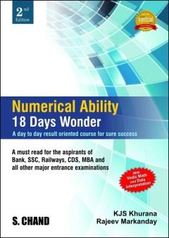 Numerical Ability 18 Days Wonder