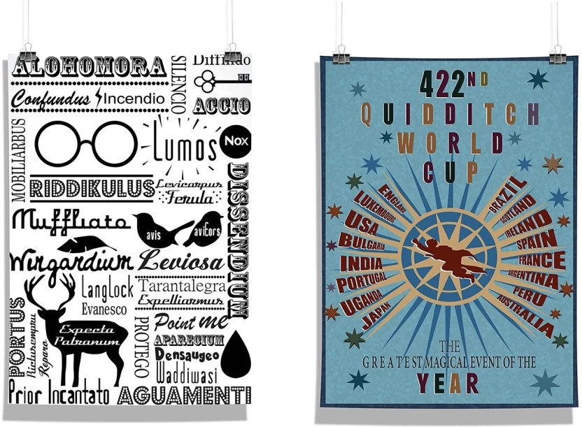 Harry Potter 422 Quidittch World Cup Doodle Photographic Paper