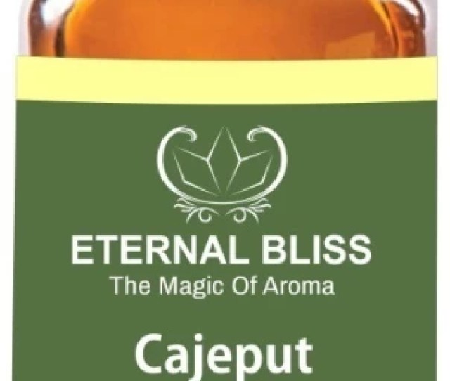 Eternal Bliss Cajeput Essential Oil  Pure Undiluted Ml