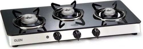 GLEN 1033GT Automatic Glass Cooktop(Gas Stoves) Glass Automatic Gas Stove