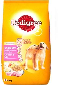 Pedigree Puppy Chicken, Milk Dog Food  (10 kg Pack of 1)