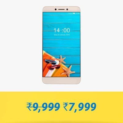 LeEco Le 1s Eco (Gold, 32 GB)