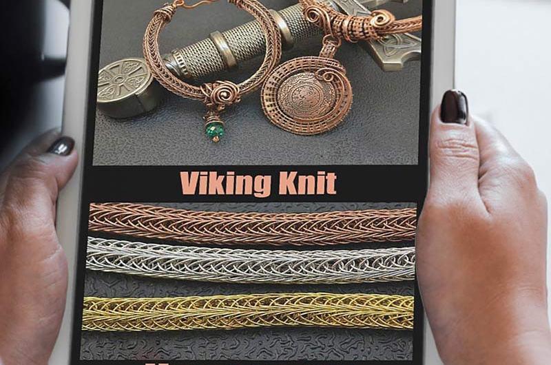 МК Цепь Викинг из проволоки- Viking Knit. Книга PDF.