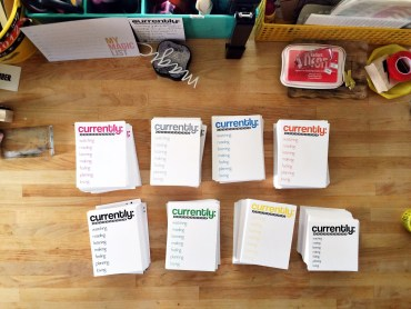 rukristin currently journaling cards