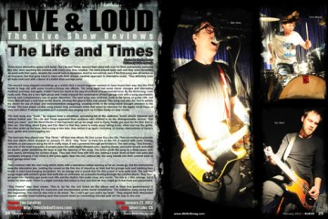 The Life and Times, Concert Review
