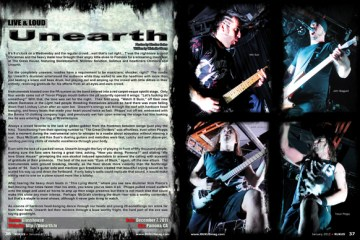 Unearth, Concert Review