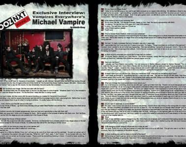 Vampires Everywhere, Artist Interview