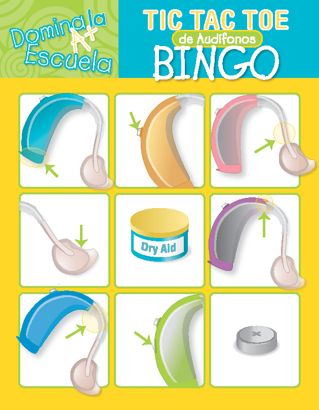 Hearing Aid TicTacToe in Spanish