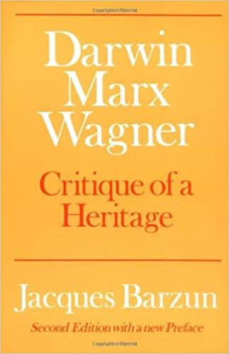 Darwin, Marx, Wagner