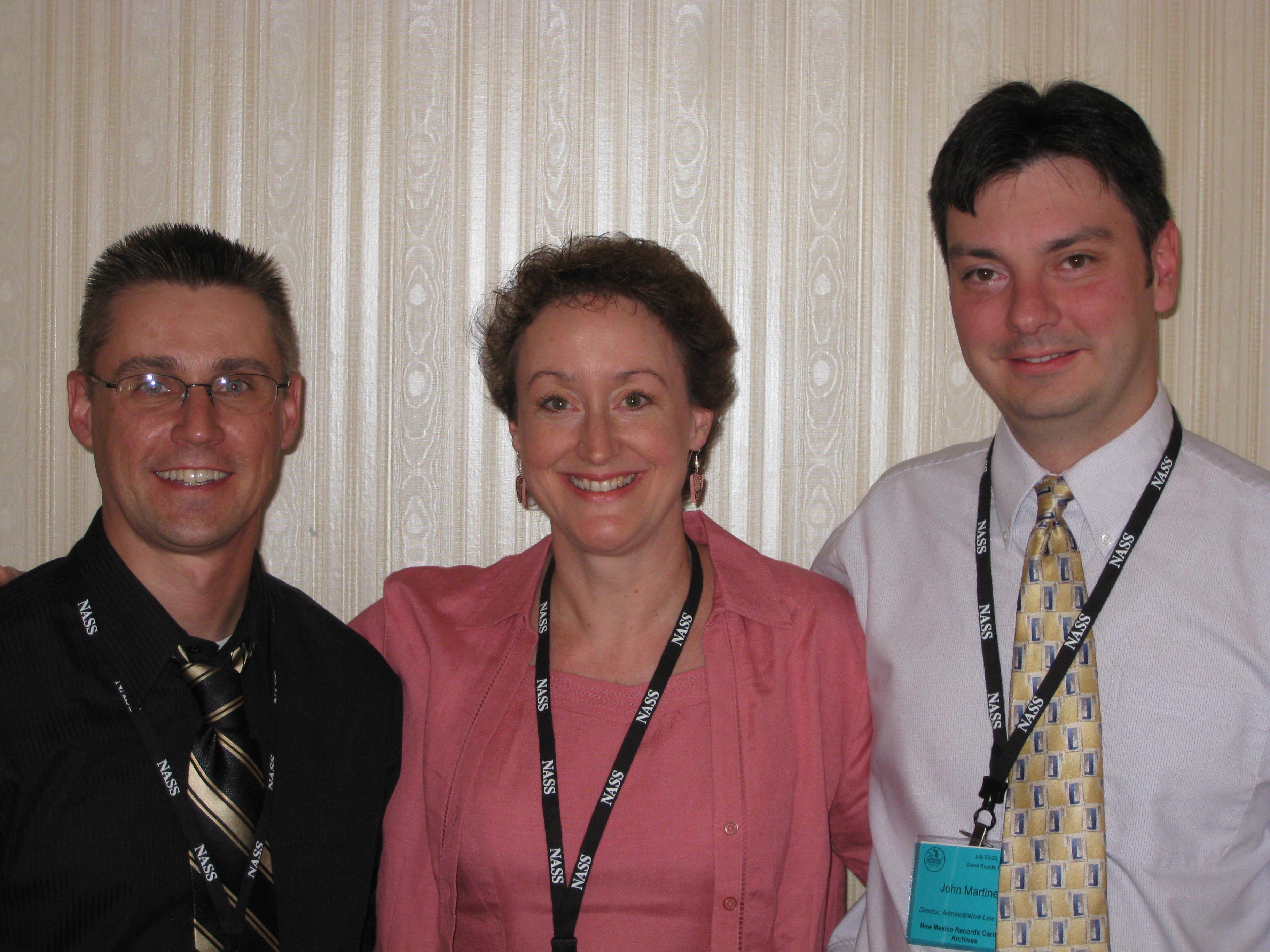 Scott Cancelosi (AZ), Julie Yamaka (OR), and John Martinez (NM)