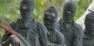 Police confirm abduction of 13 passengers in Niger, Gunmen attack traditional rulers in Imo, two confirmed dead, Gunmen attack police station, Gunmen attack UNIZIK teaching hospital, raze DSS, FRSC offices in Nnewi, Gunmen kidnap AAUA lecturer in Ondo, demand 10m ransom, Gunmen abduct varsity professor, Armed robbers raid bank, kill police officer in Osun, Gunmen abduct intending couple in Ekiti, demand N5m ransom, Gunmen kidnap nursing mother, Gunmen kidnap traditional ruler, Over 30 feared killed, gunmen attack Modakeke farmers, Gunmen kill commissioner's wife, abduct Ibadan village head, Gunmen attack Imo lawmaker's, Gunmen attack Plateau communities, Gunmen abduct reverend sister, kill 51 in Zamfara, Gunmen kill in Igangan, Assailants attack police station, Bandits kill in Kebbi, attack Delta police station, attack Delta patrol van, Gunmen kill Enugu police, youth leader wife kidnapped, Gunmen kidnap FUNAAB student, Gunmen kill Emir's son, Gunmen kill Catholic priest, bandits kill eight, Gunmen burnt Abia station, attack operatives, in Abia State, killed two officers, burnt down, set ablaze, Gunmen abduct UNIJOS lecturer, University of Jos, kidnap Professor Grace Ayanbimpe and her husbandAssailants attack Anambra CJ, attack former Chief Judge of Anambra State, Anaku and Omor communities, Abia police station ablaze, gunmen set, razed, police station, Bende Local Government, Ika Local Government Area and the Area Command, Etim Ekpo Local Government Area, Akwa Ibom State, killed Akwa Ibom officer, kidnap Deeper Life pastor in church, in Akure, Ondo State,Gunmen abduct church pastor, Gunmen attack Rivers police, Robbers attack bullion van, in Ondo, Akure-Ondo Expressway, Amotekun, Abia State university students abducted by gunmen, report of the attack, kill Solomon Akeweje, abducted the Chairman of Yagba West Local Government, Mr Pius Kolawole, Gunmen kill Kogi commissioner, sign peace deal. FIJ report. terrorists, 65 communities, insurgents, Boko Haram, in Niger St