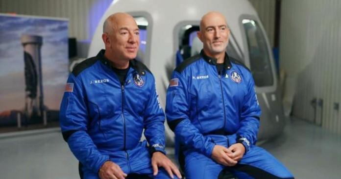 Jeff Bezos going to space