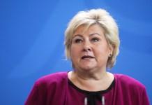 Norwegian Prime Minister Solberg resigns