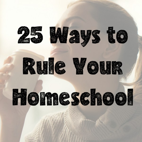 homeschool mom encouragement