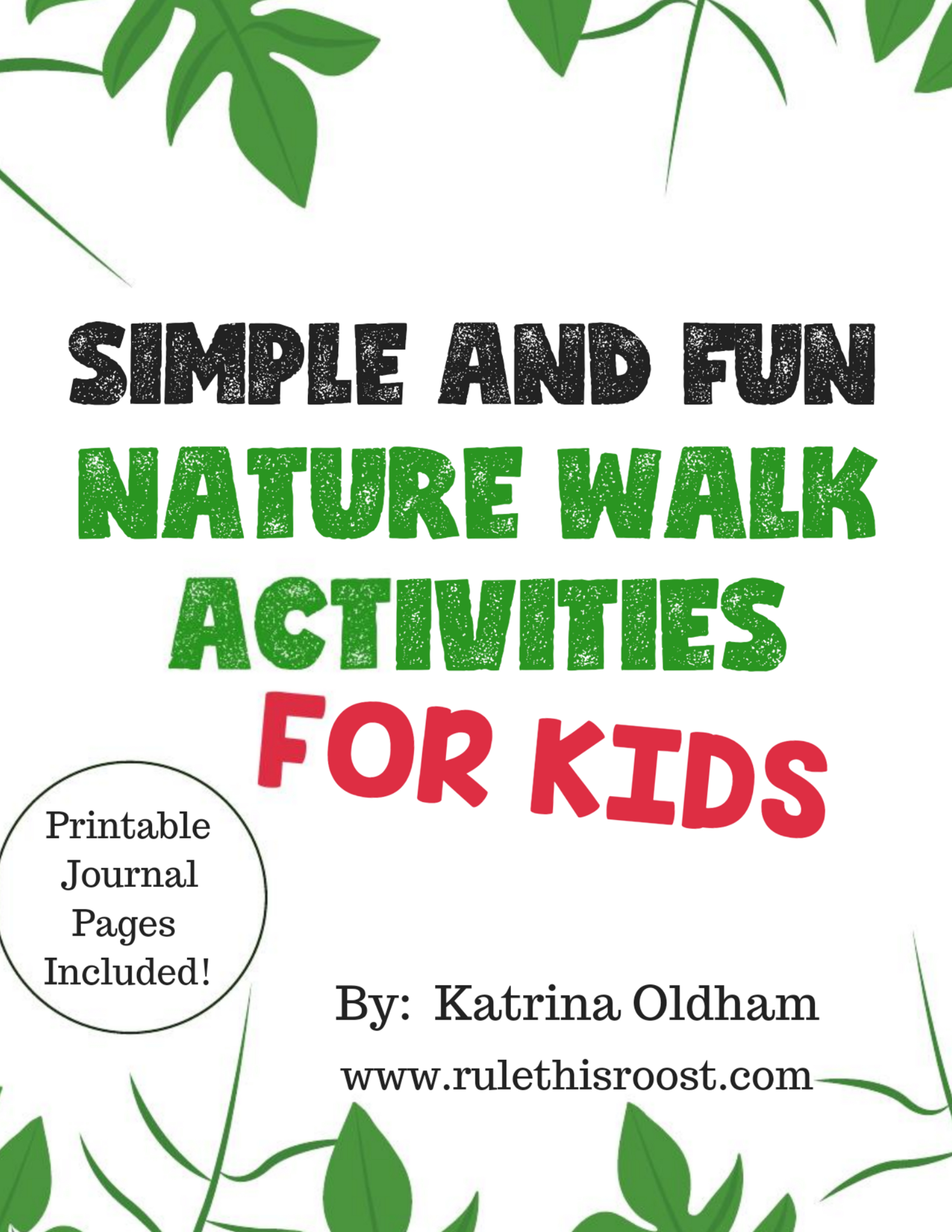 Simple And Fun Nature Walk Activities For Kids