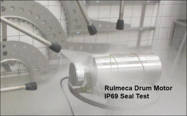 Rulmeca Drum Motor IP69 Sealing System