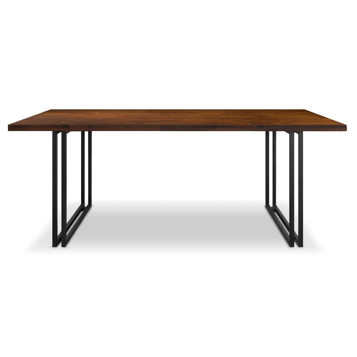 trevor acacia industrial table 240cm