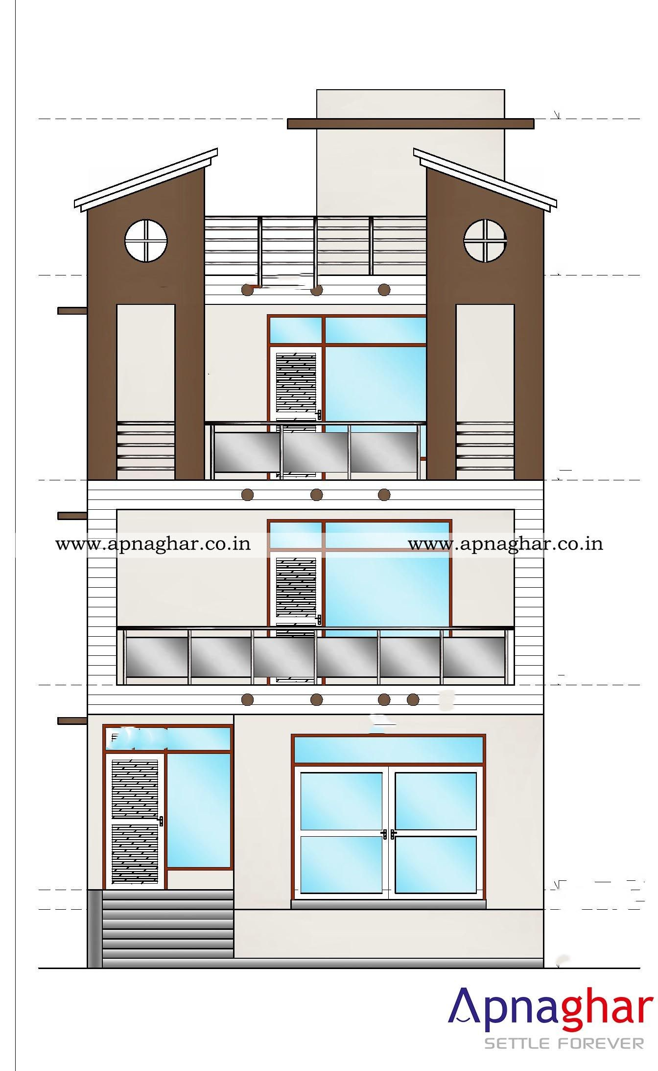 2D Elevation Drawings for your home Visit
