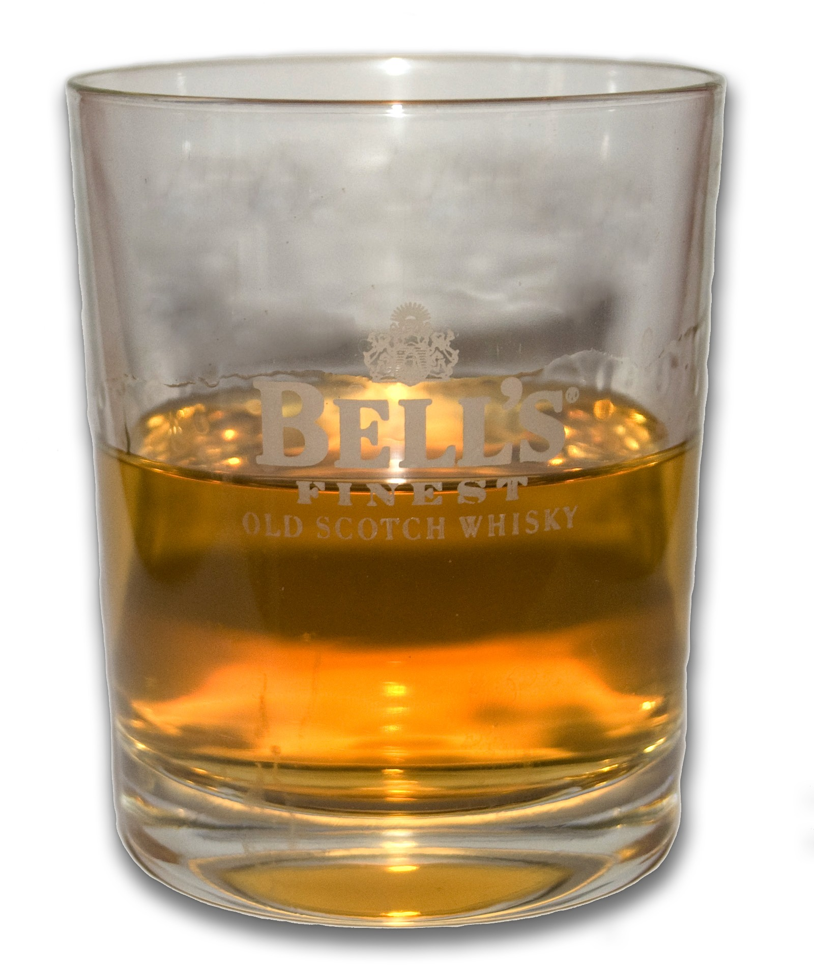 Glass of Bell s