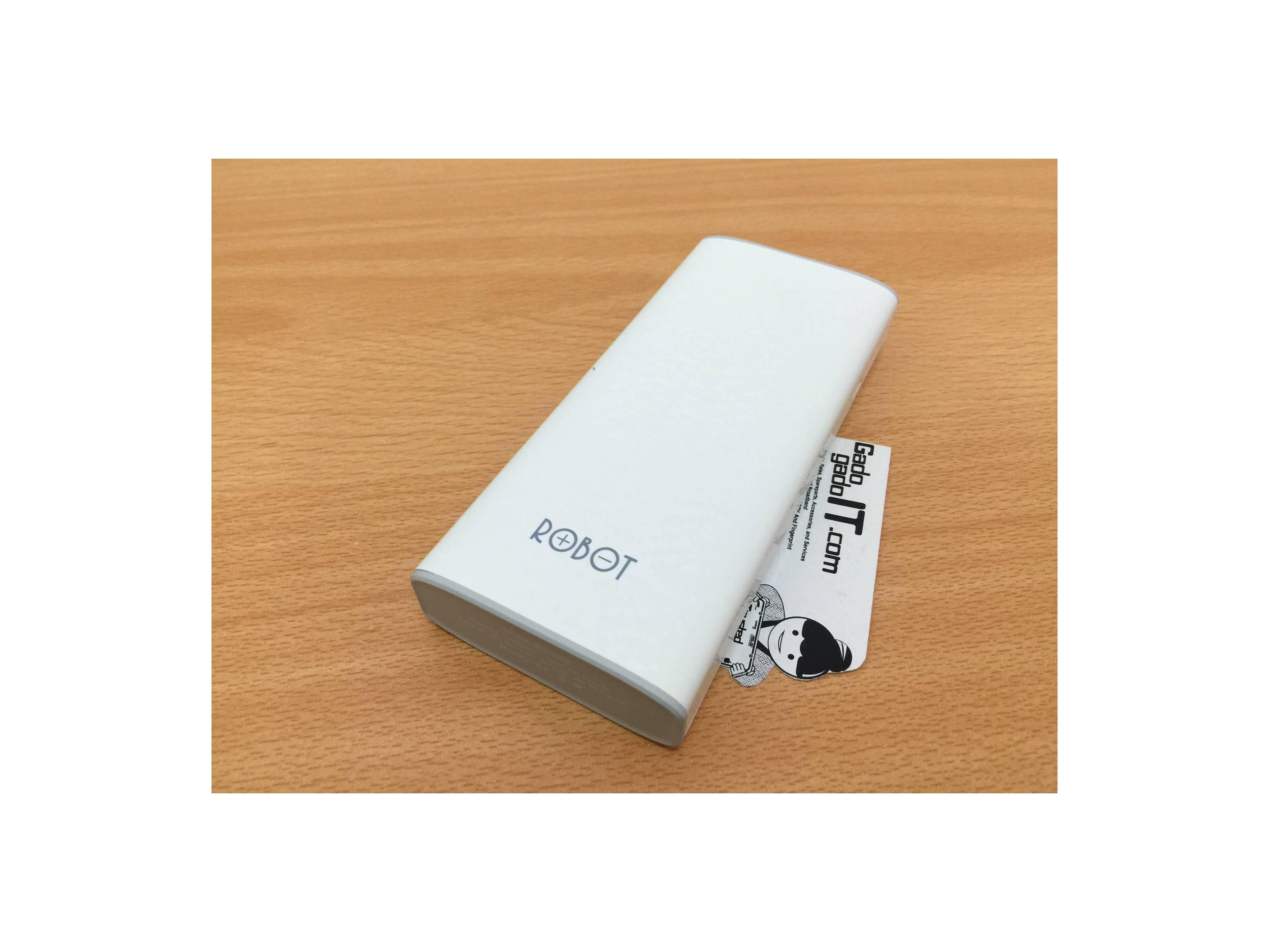Powerbank VIVAN Robot RT100S mah With Shacking Switch RESMI