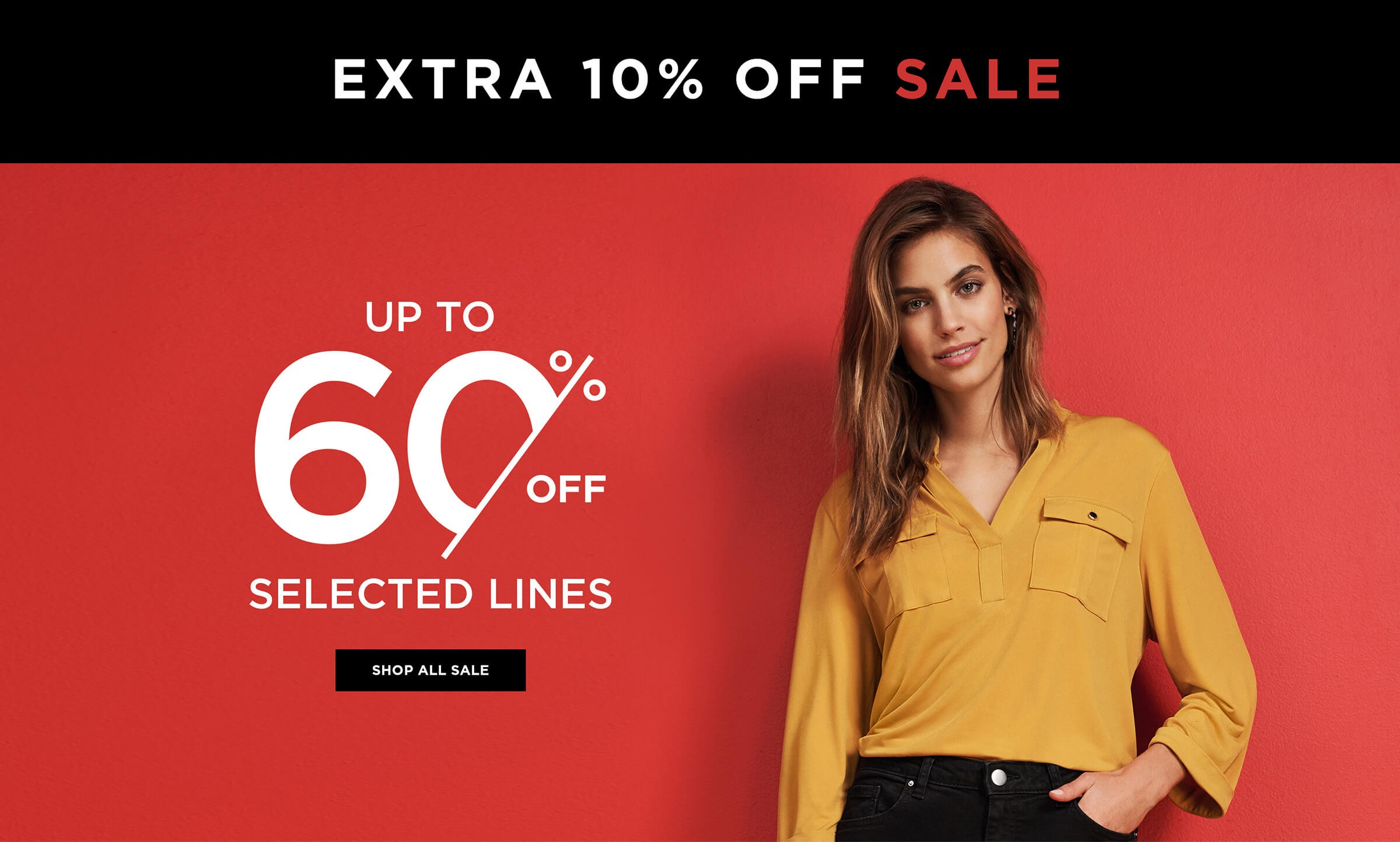 Extra f Sale Up To f Selected Lines Shop All Sale