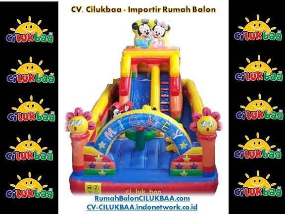 jual rumah balon surabaya Mickey Slide