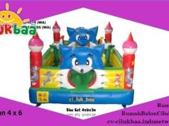 Jual Istana Rumah Balon | harga rumah balon mini | CV. CILUKBAA