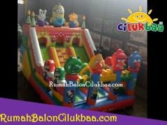 jual istana balon murah - Minion 4x6