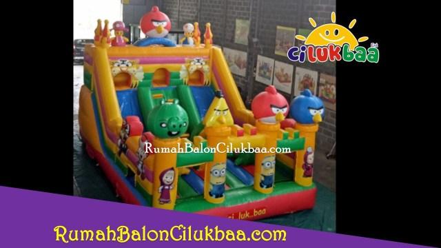 Usaha istana balon Tangerang - AngryBirds 4x6