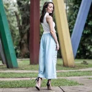Celana Batik Kulot Lebar Latifah