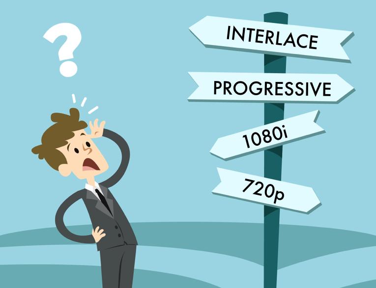 interlace progressive ask