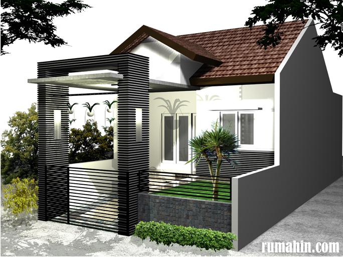 Rumah Model Minimalis Modern Type 45 Untuk 1 Lantai Dan 2 Lantai