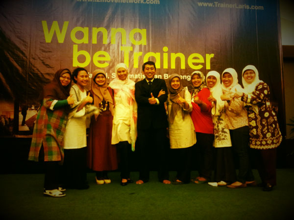 CANTUNG di Wanna be Trainer