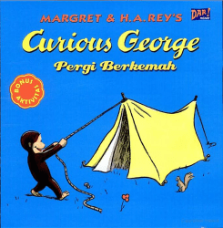 Curious-George Pergi Berkemah