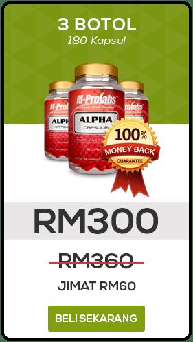 Beli M-Prolabs Alpha Capsule 3 botol SEKARANG!