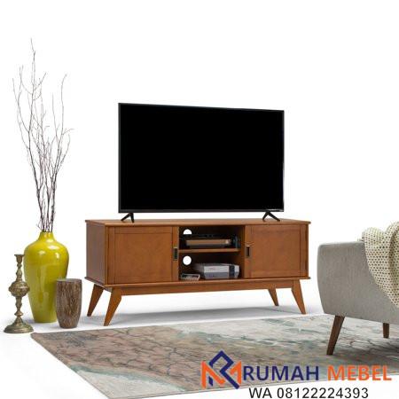 Lemari TV Kayu Jati