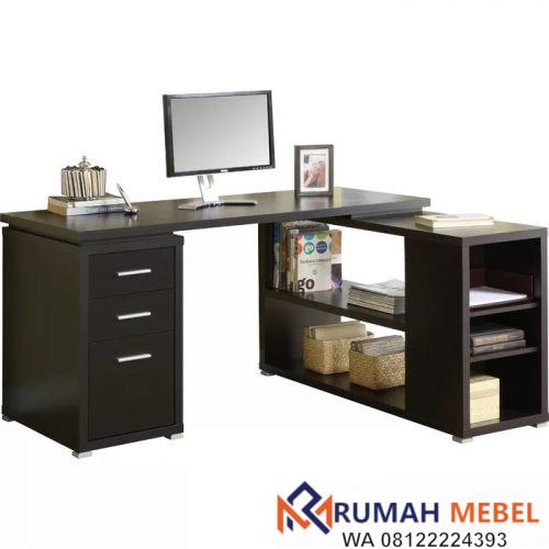 Meja Kantor Sudut Minimalis Terbaru