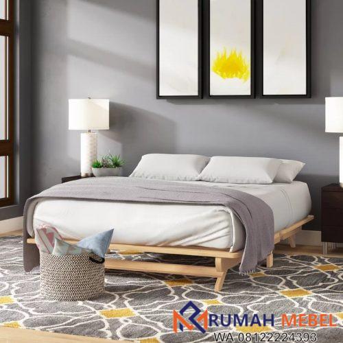 Tempat Tidur Lipat Unik Minimalis Multifungsi
