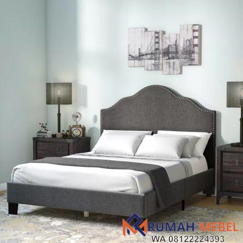 Tempat Tidur Minimalis Jepara Kinnison