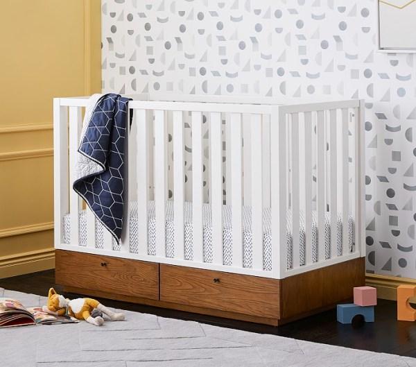 Ranjang Bayi Minimalis Laci