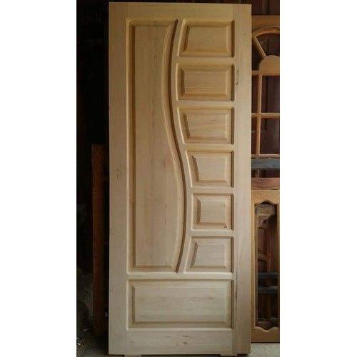 Pintu Rumah Kupu Tarung Jati Unik