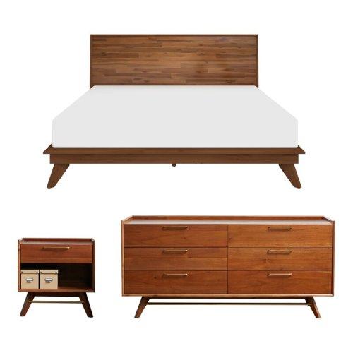 Set Kamar Tidur Jati Modern