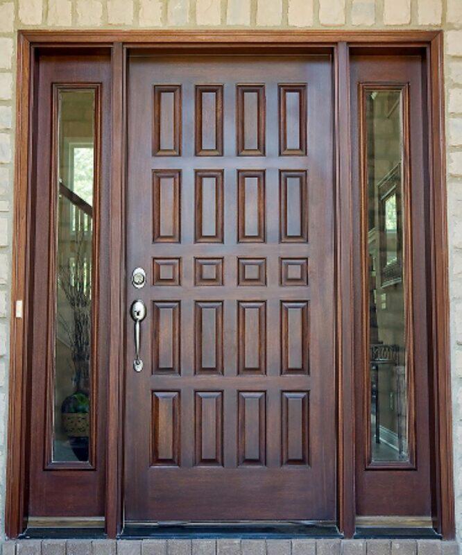 Model Pintu Tiga Dimensi